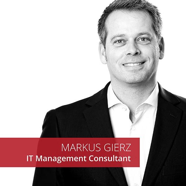 Markus Gierz IT Management Consultant Bee4IT