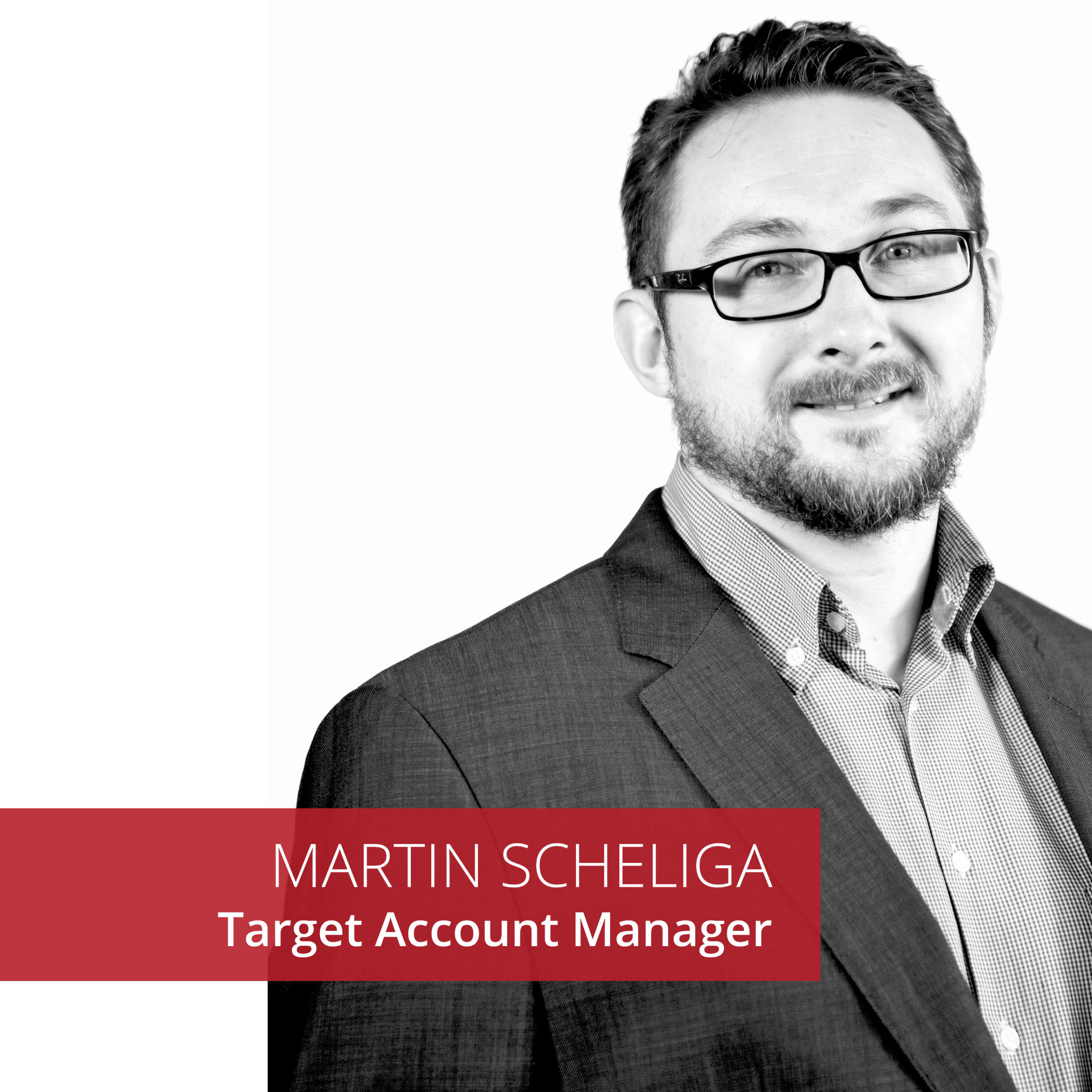 Martin Scheliga Target Account Manager Bee4IT