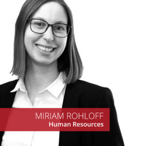Miriam Rohloff Clausmark Human Resources