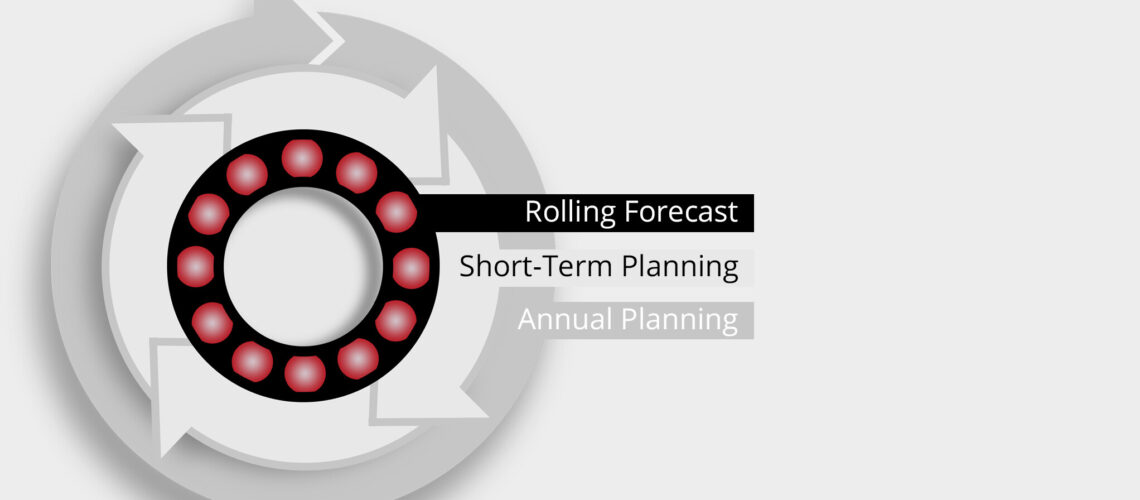 Rolling Forecast Graphic