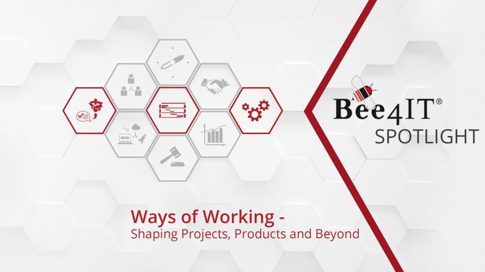 Bee4IT Spotlight Ways of Working Header ohne Date