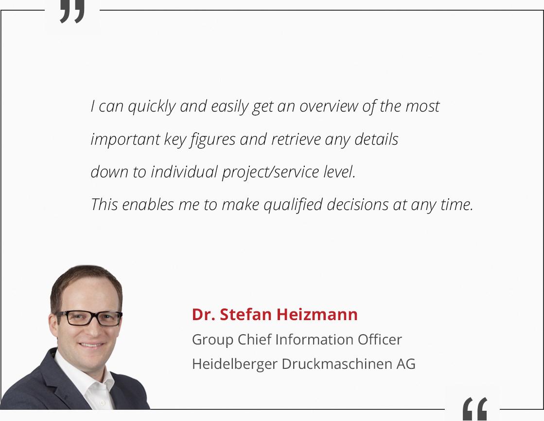 Dr Stefan Heizmann Reference