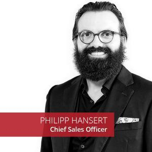 Philipp Hansert Chief Sales Officer Bee4IT