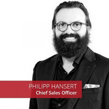 Philipp Hansert Chief Sales Officer Bee4IT