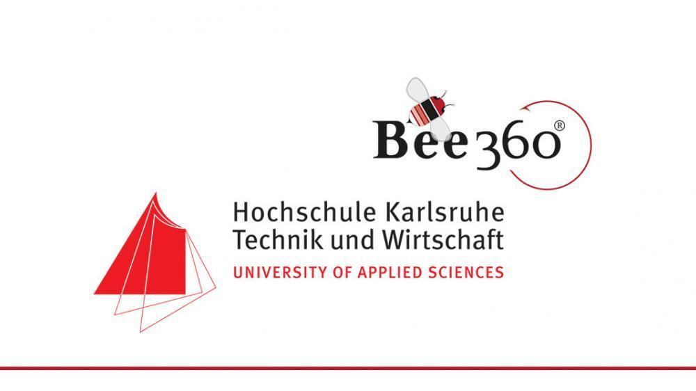 Karlsruhe University of Applied Sciences_Bee360_Collaboration Header