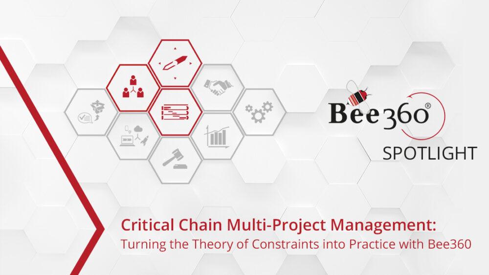Bee360 Spotlight_Critical Chain Multi-Project Management_Headergrafik_1110px