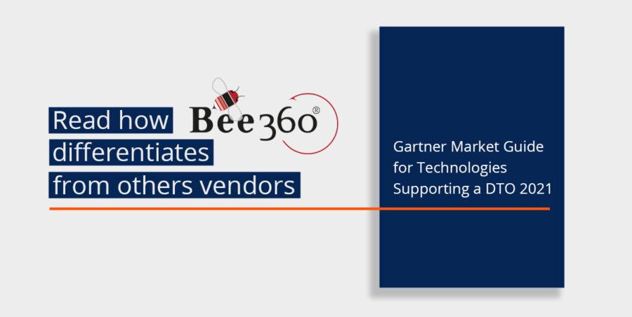 Bee360 wird im Gartner Market Guide 2021 für DTOs genannt